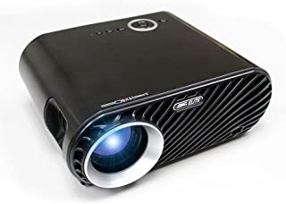 """Elite Projector 320 Ansi 3200 Lumen Portable Mini LED Projector HD LCD Video Home Theater Movie Cinema Projection 60"""" to 1..."""
