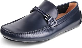 tresmode Men Casual Faux Leather Loafers  Driving Shoes