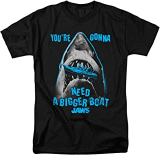 Jaws Shark Quints Classic Movie Adults T Shirt & Stickers