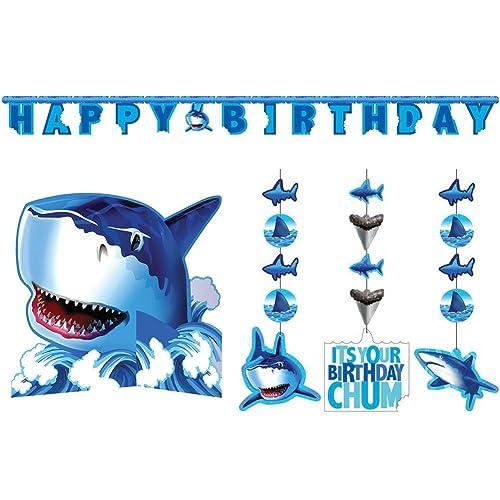 Baby Shark Party Decorations: Amazon com