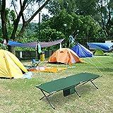 Cozy Vibe gästebett klappbar 208x78x48cm,Campingbett, Feldbett, gästebett,feldbett, max. statische Belastbarkeit 180 kg,5 Farben(Grün) - 9