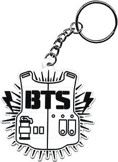 BTS Bangtan Boys A.R.M.Y Logo Silicone Keychain