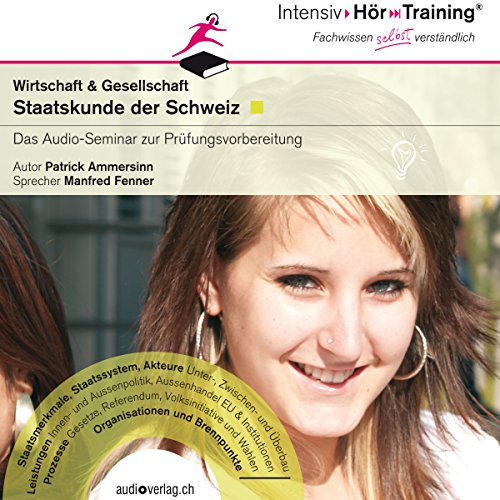 Staatskunde der Schweiz (IntensivHörTraining) audiobook cover art