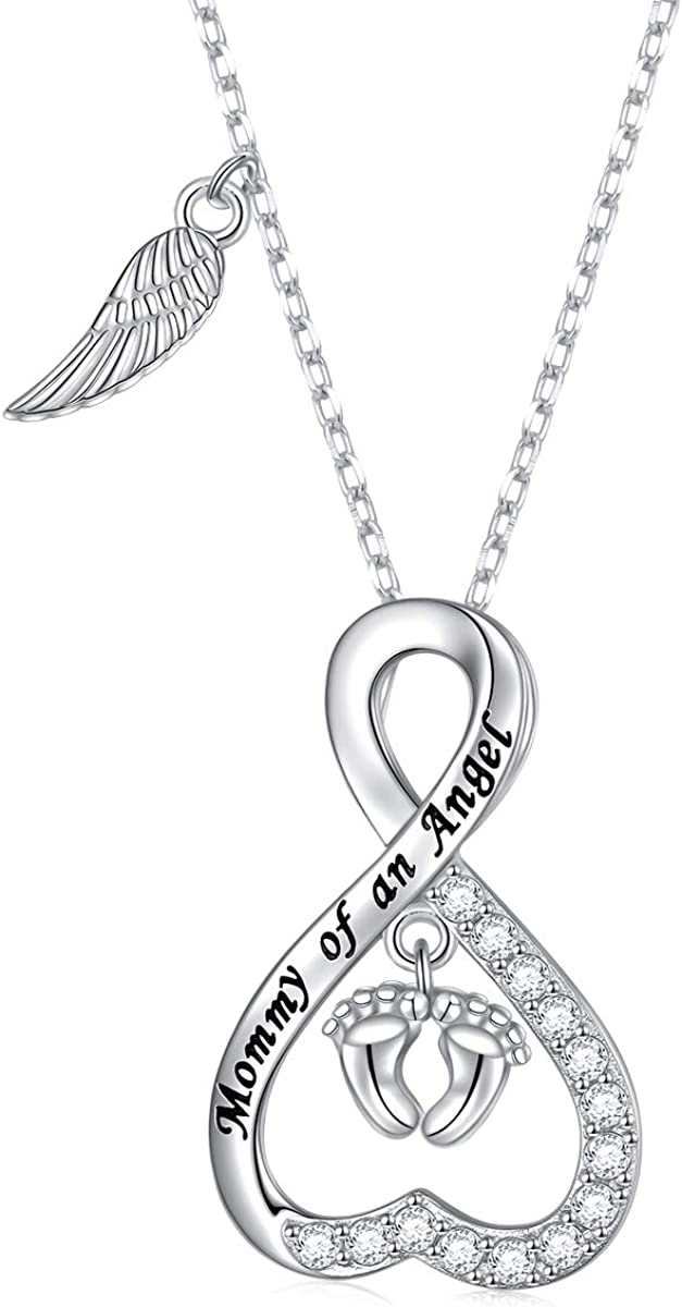 Sterling Silver Loss Miscarriage Stillborn Infant Child Loss Memorial Sympathy Pregnancy Gift...