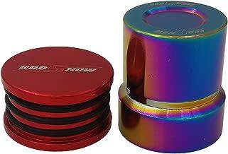 AJP Distributors For Honda For Acura B F H Series Engine Billet Camshaft Cap Plug Vtec Solenoid Cap Cover Seal Red Neo Chrome