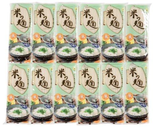 自然芋そば 米の麺 180X12