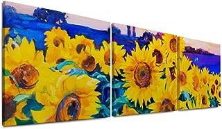 Best watercolor sunflower field Reviews