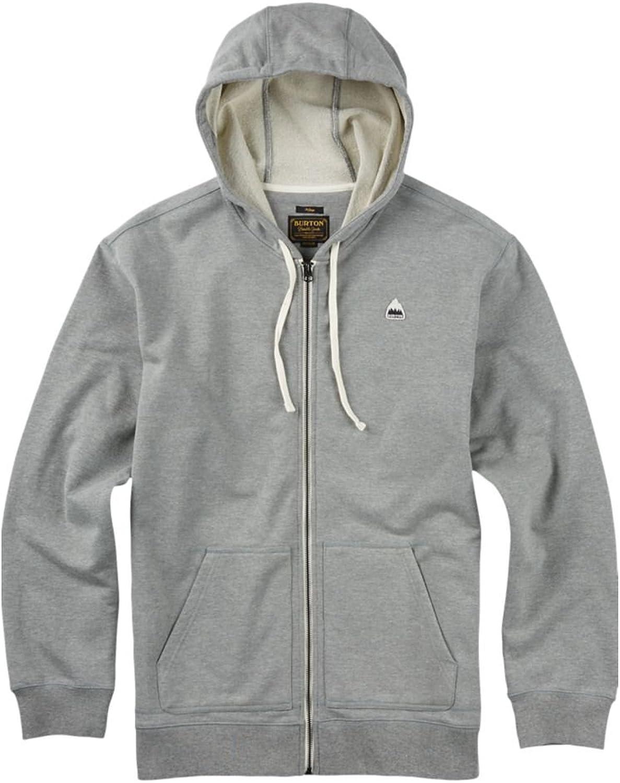 Sweater Hooded Zip Men Burton Roe Zip Hoodie