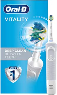 Oral-B Vitality FlossAction Electric Toothbrush, White