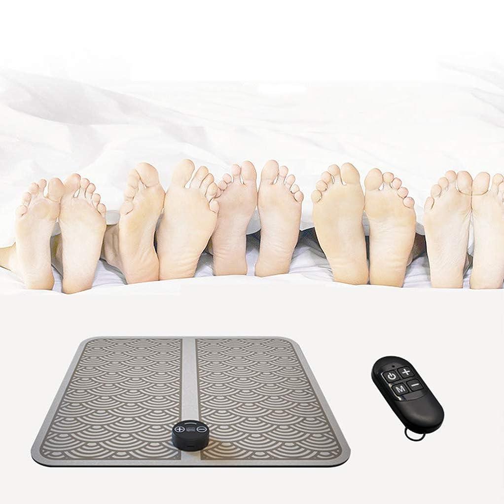 病なワイド傾く指圧マッサージ機、EMS理学療法マッサージ電気USB充電振動足ペディキュアマシン