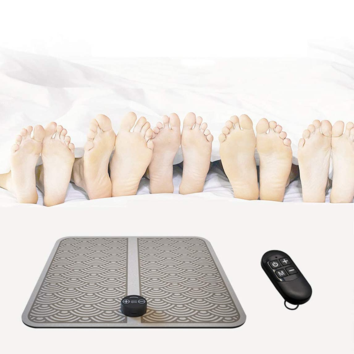 高潔な機知に富んだすべき指圧マッサージ機、EMS理学療法マッサージ電気USB充電振動足ペディキュアマシン