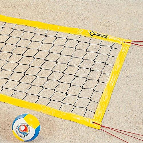 Donet Beach-Volleyball-Netz, Turnier & Freizeit, ca. 3 mm, 9,5 x 1,0 m