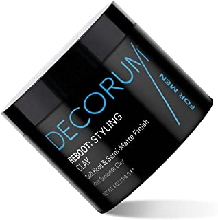 Decorum Reboot Styling Clay, 4 Ounce