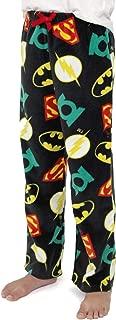 Justice League Boys Plush Fleece Lounge Pajama Pants