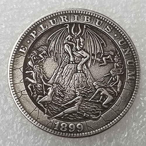 DDTing Best Morgan Silver Dollars – Hobo Nickel Münze – 1915 Münze zum Sammeln – Silber-Dollar USA Old Morgan Dollar GoodService