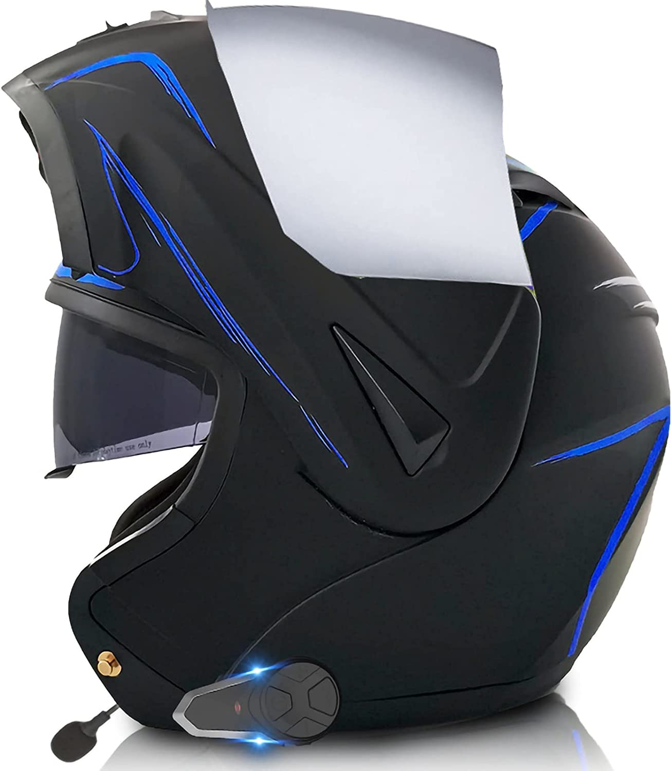 Credence MOMOJA Bluetooth Motorcycle Modular Helmet Up H Our shop OFFers the best service Double Flip Lens