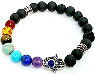 HBN India White Quartz Buddha Powered Bracelet