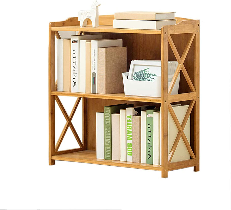 YAXIAO Solid Wood Bookshelf Multi-Layer Floor Book Sundries Lockers Study Room Living Room Decoration 70x25x70cm Bookshelf