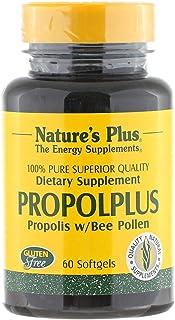 Nature's Plus Propolplus 100 Percent Pure Propolis 60 Softgels