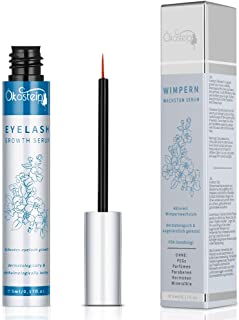 Eyelash Growth Serum, Natural Rapid Lash Boost Eyebrow Enhancer Treatment for Longer, Thicker Lashes and Eyebrows with Biotin & Growth Peptides