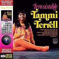 Irresistible-Cardboard Sleeve-High-Definition CD Deluxe Vinyl Replica