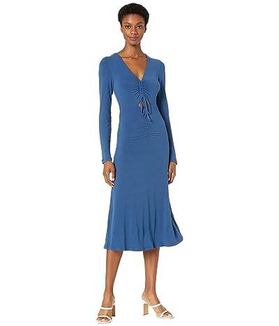 Bardot Ruched Jersey Dress