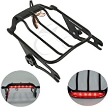 XMT-MOTO Air Wing Tour Pak Luggage Rack LED Tail Light fits for Harley-Davidson Touring 1993-2013