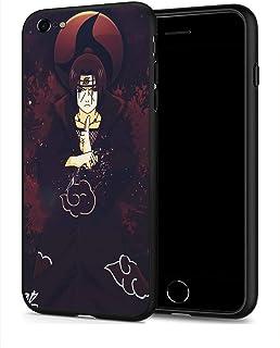 Schutzhülle für iPhone 7, iPhone 8, Anime Comic Serie, Schutzhülle für iPhone 7, 8 (Naruto Itachi Uchiha)