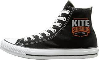 Cool Kitesurfing Extreme Sport Fashion Casual Canvas High-top Sneakers Unisex