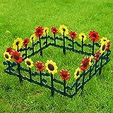 Sungmor - Valla de jardín, diseño de tulipanes y...