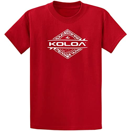 f497272f2 Koloa Surf Custom Graphic Heavyweight Cotton T-Shirts in Regular, Big and  Tall
