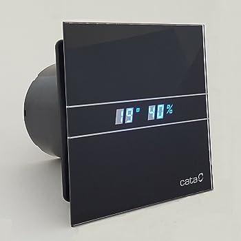 Cata | Extractor baño | Modelo e- 100 Gth BK | Estractor de baño ...