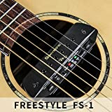 Skysonic Wireless Pickup FS-1 Acoustic Guitar Sound Hole Pickup Free Hole Wireless Transmission, dual pickup, with playing boardwireless guitar pickups systemtonewood amp