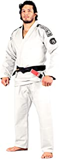 Bad Boy - Foundation BJJ Gi - Ultra Light Weight, 100% Rip Stop, Preshrunk, White Belt Included