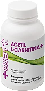 +WATT CARNITINA+ ACETIL CARNITINA ALC 75 COMPRESSE DA 1,4 gr. BRUCIAGRASSI DIMAGRANTE