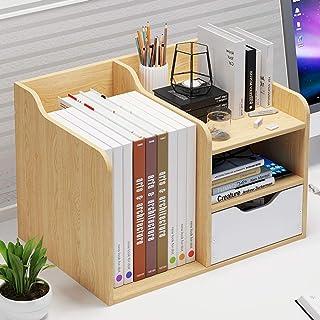 Sling Bookshelf,Desktop Bookshelves, Desktop Storage Racks, Small Bookcases On Office Dormitory Desks, Home, Bathroom, Kit...