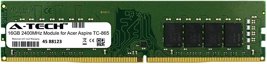 A-Tech 16GB Module for Acer Aspire TC-865 Desktop & Workstation Motherboard Compatible DDR4 2400Mhz Memory Ram (ATMS267503A25822X1)