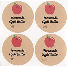 apple butter jar labels