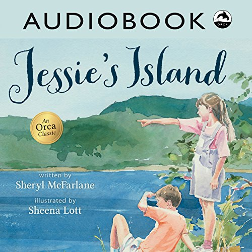 Jessie's Island audiobook cover art