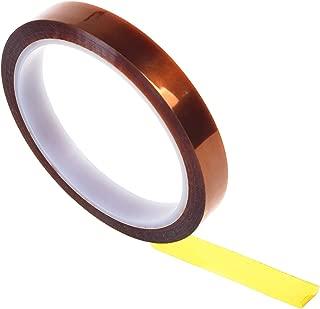 WINGONEER 10mm x 33mポリイミド高温耐熱接着用金テープ3Dプリンタプラットフォーム/電気タスク/はんだ付け作業用