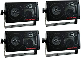 PYRAMID 2060 600W 3-Way Car Audio Mini Box Speakers Stereo Indoor System photo