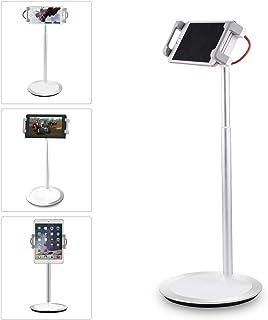 Salcar タブレット スマホ スタンド 任天堂スイッチ スタンド 卓上 高さ・角度調節 360度回転 ホルダー 4.7~12.9インチ対応 iPad/iPhone/Android/NintendoSwitch対応 アーム 安定感抜群 アルミ製