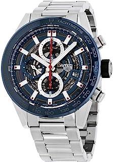 TAG Heuer - Reloj de Hombre automático 43mm Correa de Acero CAR201T.BA0766