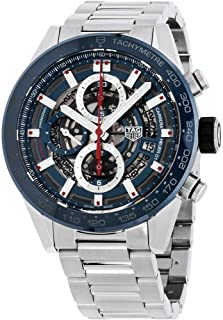 Carrera Skeleton Dial Automatic Mens Chronograph Watch CAR201T.BA0766