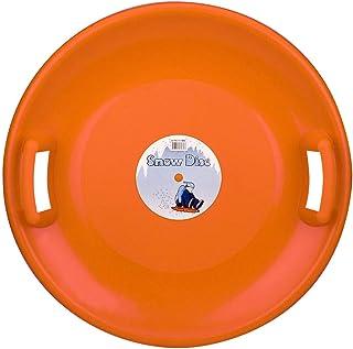 Children Sliding Bowl Snow Disc Orange