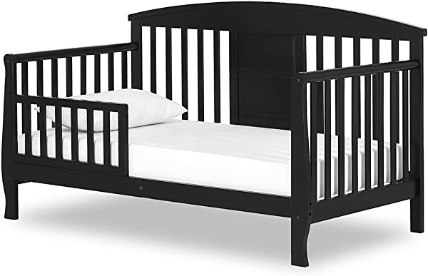 Dream On Me Dallas Toddler Day Bed Black