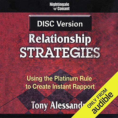 DISC Relationship Strategies audiobook cover art