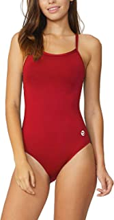 BALEAF Women's Athletic Training Adjustable Strap One Piece Swimsuit Swimwear Bathing Suit