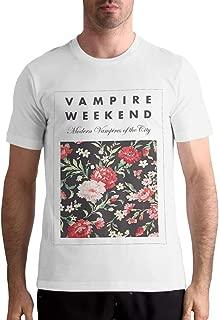 Vampire Weekend T Shirt Mens Tops Comfortable Short Sleeve