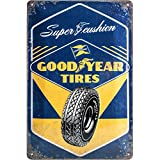 Nostalgic-Art 22267, Goodyear – Super Cushion, Plaque de 20 x 30 cm
